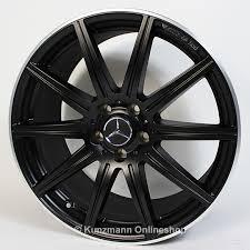 mercedes amg black rims cls 63 amg 19 inch alloy wheel set 10 spoke alloy wheels