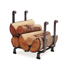 pleasant hearth adjustable firewood rack bracket kit ls932b the