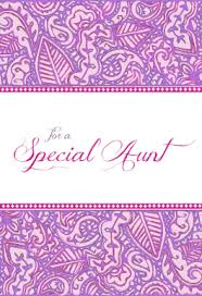 for a special aunt free printable birthday card greetings island