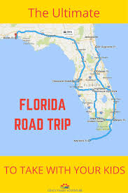 Road Trip Map The Ultimate Florida Road Trip 31 Places Not To Miss Crazy