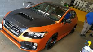 subaru wrx decals surprise wrap 2015 subaru wrx sti crush youtube