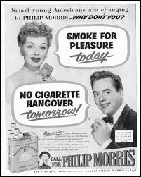 t c c lucy and desi smoke philip morris