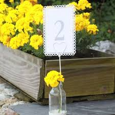 Vase Holders 7 Best Wedding Table Name Number Holders Images On Pinterest