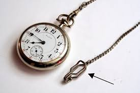 vintage watch chain necklace images Vintage watch chain jpg