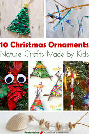 10 ornament nature crafts to make with great