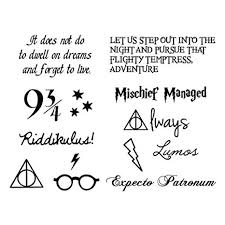 amazon com tattify harry potter temporary tattoos you re a