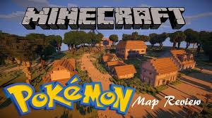 Map Of Pokemon World by Minecraft Map Review Kanto Pokemon World By Eisenbahn Youtube