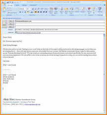 email cover letter example email cover letter sample email cover