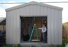 Shed For Backyard by Residential Metal Buildings Steel Workshop Buildings U0026 Garages