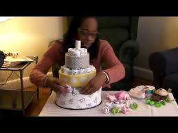 How To Make A Daiper Cake For A Baby Shower Rubber Duck Diaper