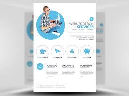 design flyer layout minimal web design flyer template flyerheroes