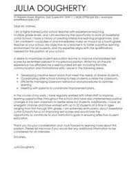 marvellous inspiration ideas education cover letter examples 1
