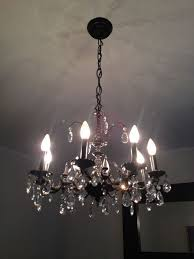 pottery barn light bulbs pottery barn chandelier hack hometalk
