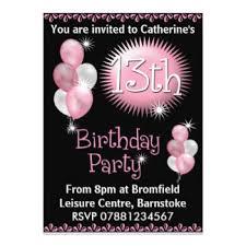 birthday invites cozy 13th birthday invitations 13th birthday