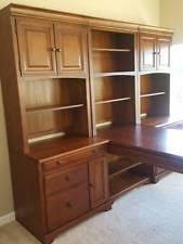 medium wood tone desks and home office furniture ebay
