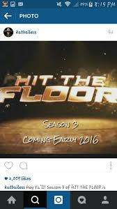 Hit The Floor New Season - hit the floor returns in 2016 lipstick alley
