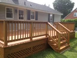 Wrap Around Deck Custom Decks U0026 Porches Ac Wood Contracting