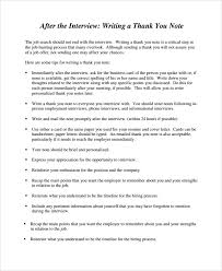 resume cover letter after interview thousandanthony cf