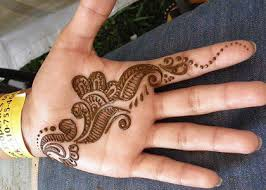 beautiful white henna designs for