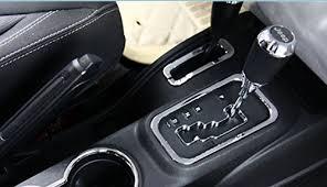 jeep wrangler gear 4wd gear shift knob cover trim for jk jeep wrangler