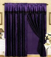 Curtains With Purple In Them Really Pretty Them Lf In A Purple