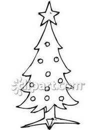 of a tree with ornaments royalty free clipart picture
