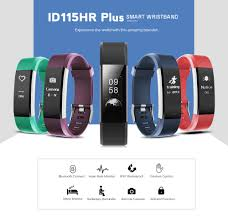 bracelet heart monitor images Dropship id115hr plus heart rate monitor smart bracelet to sell jpg