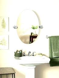 Bathroom Swivel Mirror Oval Mirror Bathroom Akapello