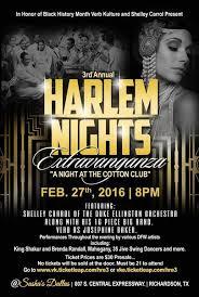 3rd annual harlem renaissance fest night at cotton club