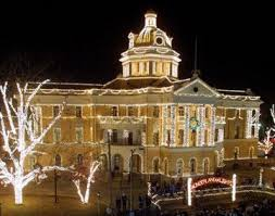 denton county christmas lights harrison county courthouse in texas places across the u s