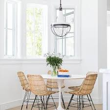 marble and metal dining table saarinen dining table carrara marble