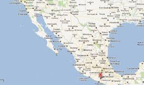 Oaxaca Mexico Map 6 8 Earthquake Shakes Western Mexico Nbc Southern California