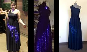 starry night u201d dress shines on the experience of multiple builds