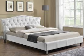 Faux Bed Frames Georgio Diamante Designerme White Faux Limelight Pulsar