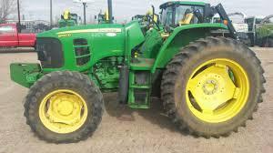 maquinaria agricola industrial tractor john deere 6100d 2010