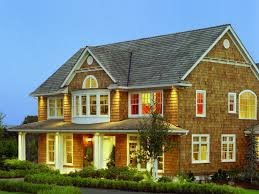 Shingle Style Home Plans Design Plan For Shingle Style House With Chic Landscape Idea