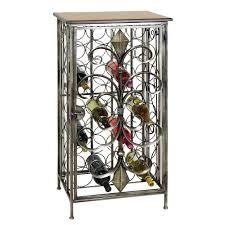 casa cortes wrought iron 32 bottle wine holder rack free