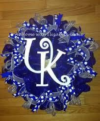 of kentucky basketball ornament wreath kentucky