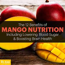 Mango Meme - mango nutrition helps lower blood sugar and boost brain health dr