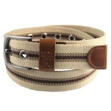 men u0027s belts striped canvas belt men waistband waist strap metal