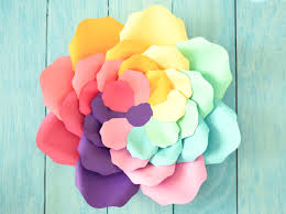unicorn rainbow iris unicorn rainbow flowers large rainbow paper flowers
