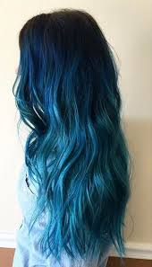 hair color light to dark 29 blue hair color ideas for daring women blue ombre dark blue
