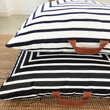 Large Outdoor Floor Pillows striped square outdoor floor cushions squarefox