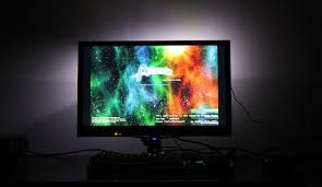 ambient light behind tv bias lighting and your computer monitor 13 for more comfortable