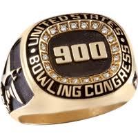 keepsake bowling rings bowl high score awards