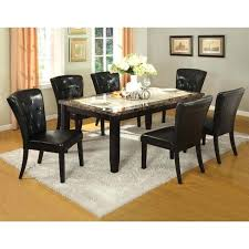 marble top dining table set faux marble top dining table set exquisite design ingenious