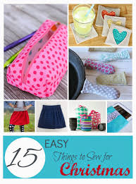 15 easy things to sew for christmas presents southern fabric