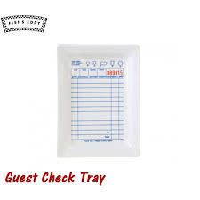 guest check tray cast rakuten global market fishs eddy tray guest check