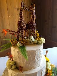 giraffe cake topper giraffe wedding cake topper liviroom decors giraffe cakes for