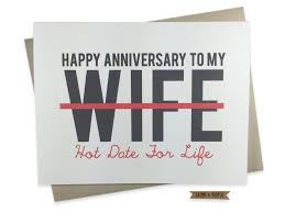anniversary card for wedding anniversary card to